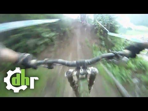 Leogang: Funny Mountain Bike Downhill Crash