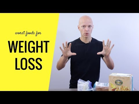 7 Worst Foods for Weight Loss (AVOID These!!!)
