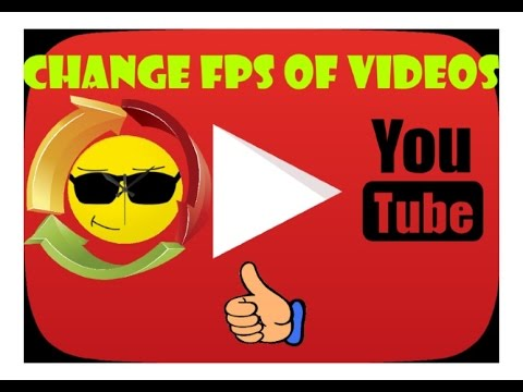 How To Change The Framerate (FPS) Of Videos FREE! | Youtube Noob