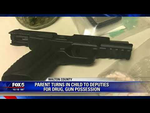 Walton County parent turns in child for drug possession
