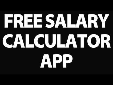 Free Salary Calculator app - Use this app to calculate your uk salary