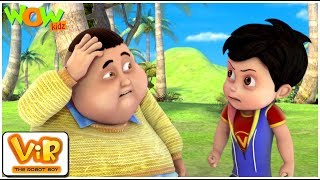 Coconuts Attack | Vir: The Robot Boy WITH ENGLISH, SPANISH & FRENCH SUBTITLES | WowKidz