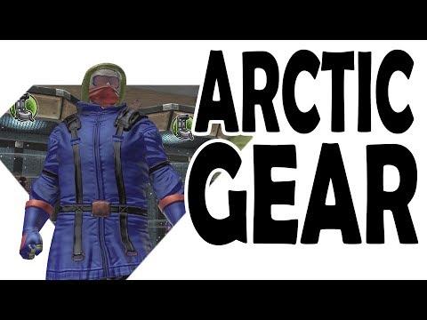 DCUO; Arctic Gear