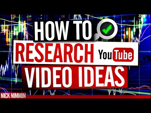 How To Research YouTube Video Ideas   YouTube Research Tools
