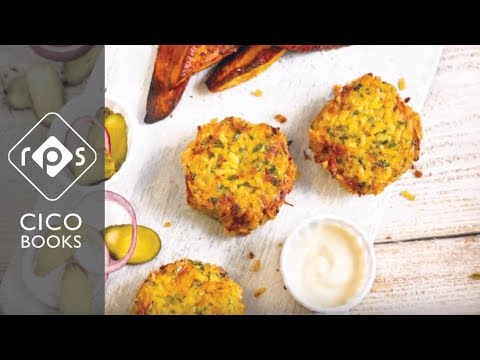Spicy Vegan Burgers - Recipe Tutorial