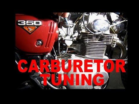 Honda 350 Carburetor Tuning