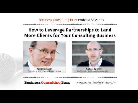 How to Get More Consulting Clients Using Partnerships: Interview with Aarni Heiskanen