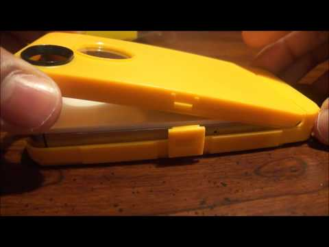 Otterbox Defender(Grey/Yellow) Unboxing and Review [iPhone 4/4S]