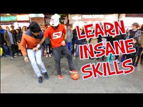 Learn insane Football skills  - T Shirt trick vs Neymar LIKE/SHARE