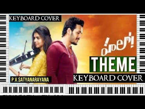 hello theme from hello movie on keyboard by p.v.satyanarayana