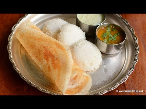 How to grind idli dosa batter in mixie, south Indian breakfast