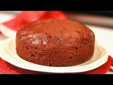 Christmas Plum cake in Pressure Cooker Without Rum - No Butter  No Oven- No Beater Episode :820