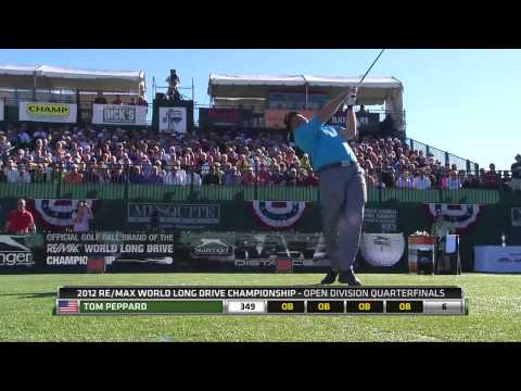 2012 RE/MAX World Long Drive Championship Powered By Dick's Sporting Goods - Segment 2