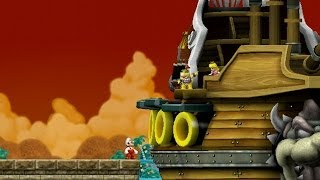 New Super Mario Bros  Wii - World 1 Tower Star Coin - Tube5x