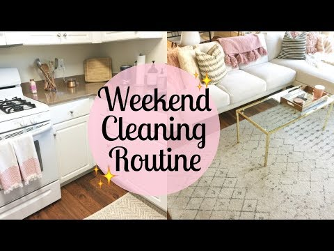 SUNDAY MORNING CLEANING ROUTINE 2017   Clean with me   Cleaning motivation   Tara Henderson