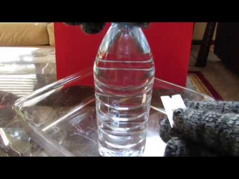 What's inside a water bottle?