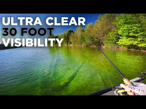Ultra Clear Water Fishing