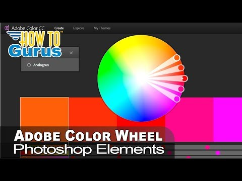 How to Use the Adobe Color Wheel to enhance Adobe Photoshop Elements 2018 15 14 13 12 11