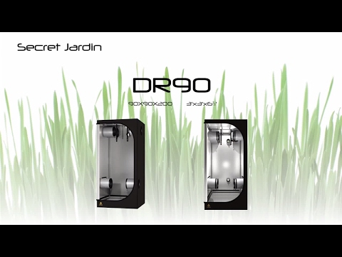 How to set up Secret Jardin grow tent DR90 | Product Tutorial