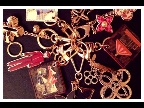 My Louis Vuitton Bag Charm Collection
