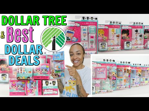 DOLLAR TREE AND BEST DOLLAR DEAL TOY HAUL! MY MINI MIXIE'S Q TOYS