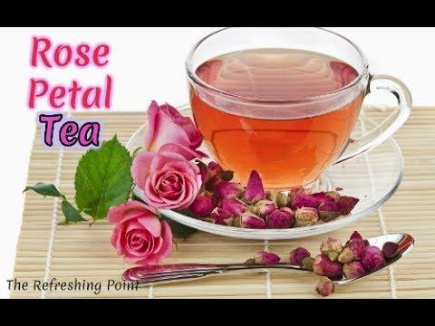 Elegant Rose Petal Tea Has a Wide Array of Health Benefits 🌹 Rose Bud Tea for Radiant Skin & More