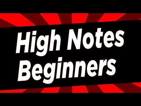 High Notes for Beginners- Start Light - Singing Lesson NYC