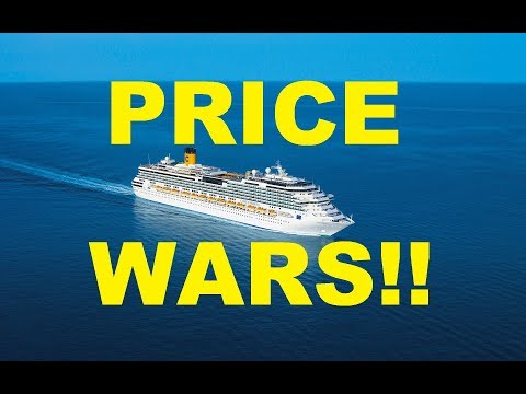 Cruise PRICE WARS is HAPPENING NOW!!