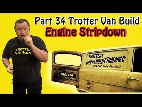 Part 34 Reliant Trotter Restoration Engine Stripdown