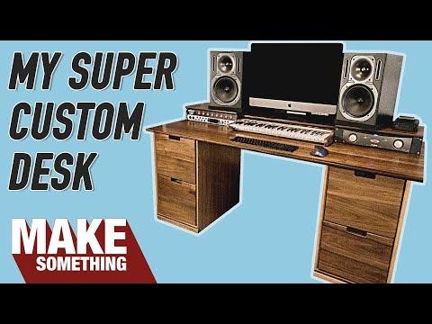 Making a Super Custom Workstation Desk