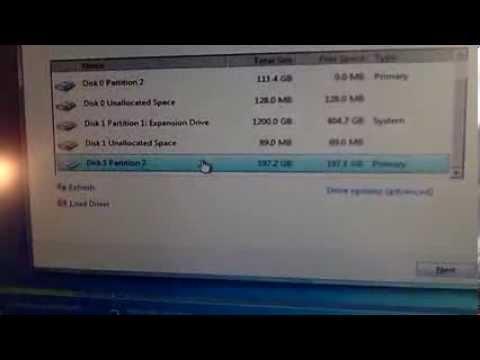 Windows 7 Installation Error 0x80300024 Fix