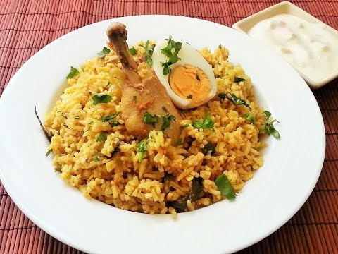 Easy chicken biryani / one pot chicken biryani in  Tamil