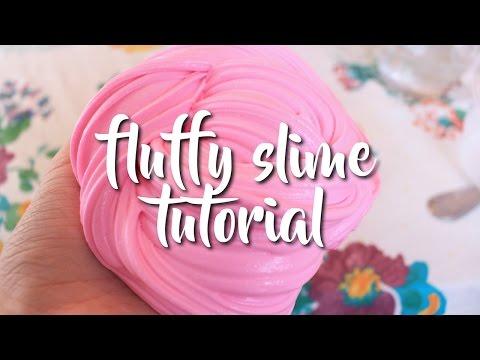 Fluffy Slime Tutorial | DIY Instagram Slime | iCrafts