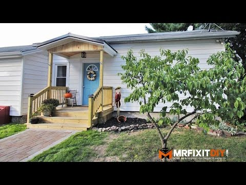 CURB APPEAL | FRONT PORCH REMODEL