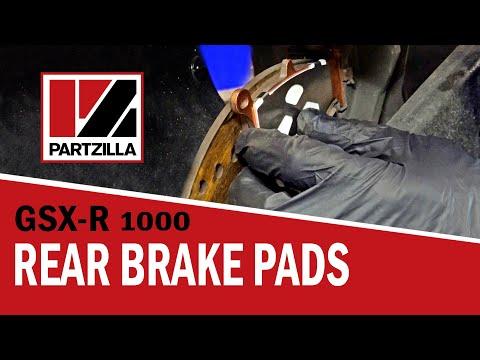 How to Change Rear Brake Pads on a Suzuki GSXR 1000 | Partzilla.com