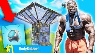 *NEW* Port-A-Fort // #1 Bodybuilder Fortnite Player // Fortnite Battle Royale (LIVESTREAM)