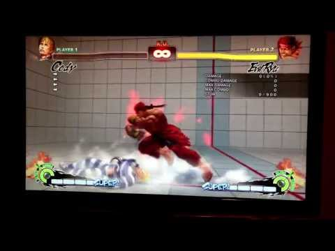 Evil ryu unblockable setup(dive kick) after forward throw on Cody, Gouken and Balrog