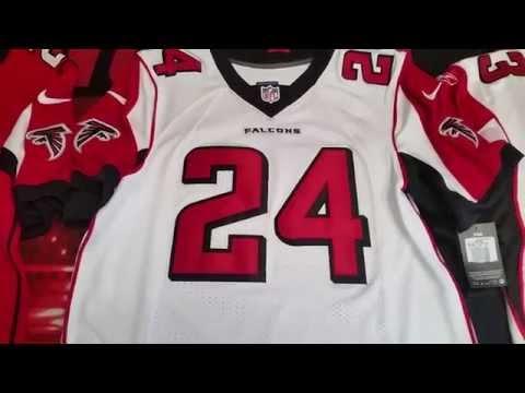 Men s Nike Atlanta Falcons  2 Ryan Elite White Jersey at NBASHOE ... ba1406979
