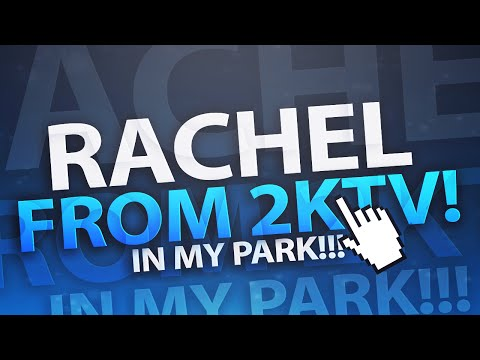 NBA 2K16 MyPark | Playing w/ Rachel DeMita From 2KTV!!!