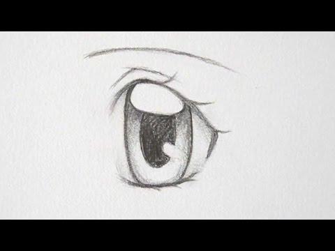 How to Draw Manga Girl Eyes 3 Ways