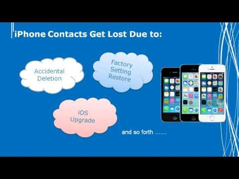 How to Get Back Lost Contacts on your iPhone