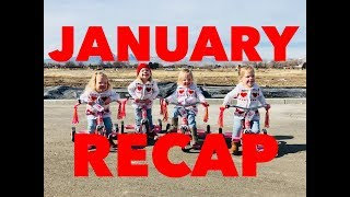 JANUARY RECAP VLOG-WE