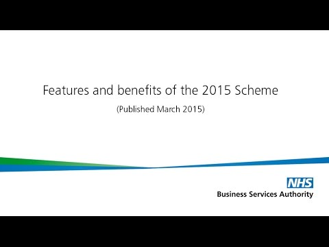 Features and benefits of the 2015 NHS Pension Scheme