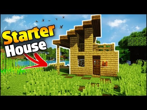 Minecraft: Survival House Tutorial - How to Build a Easy House in Minecraft