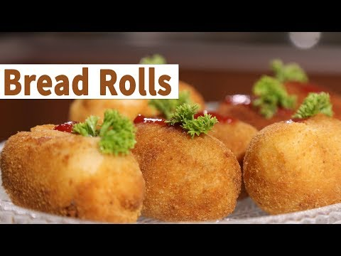 How to Make Rolls with Sandwich Bread | Mallika Joseph Food Tube