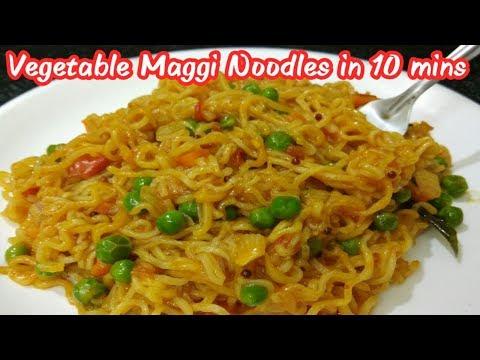 Vegetables Maggi noodles in Tamil/ வெஜ் மேகி நூடுல்ஸ்