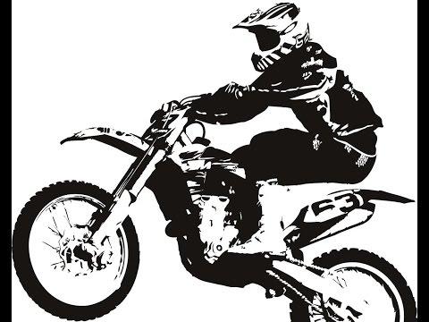 Honda CRF250R Dirt Bike Wheely