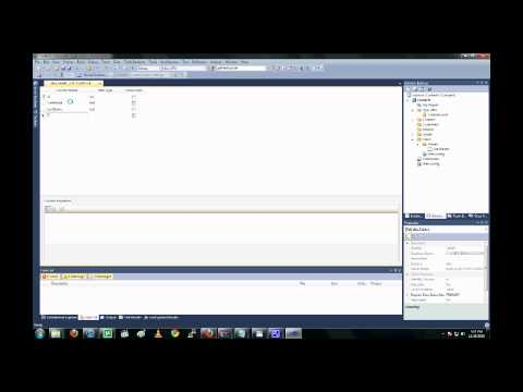 Database Driven Web Application in less than 5 minutes Using Visual Studio