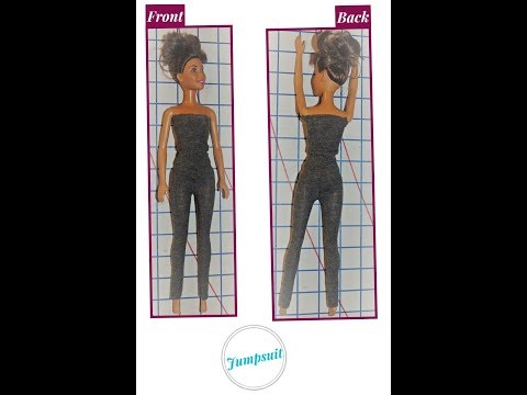 How to Make  - DIY:  Barbie Jumpsuit {7 EASY Steps}