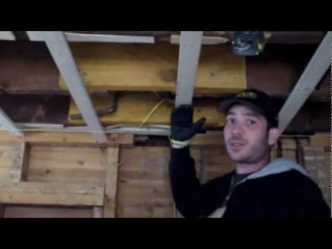 How to Level a Ceiling in an Old Home - Remodeling